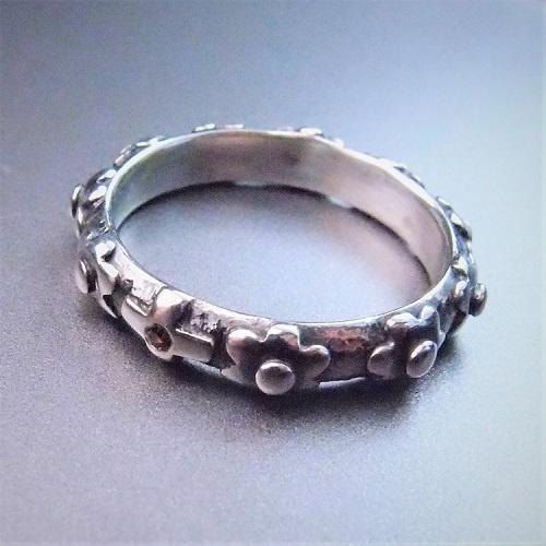 c63043a4e26dfa Biżuteria artystyczna - Pierścionki - blossom in dark... różaniec